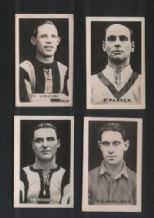 "The Champion"" 4 early 1922-3 Football trade cards  #494"
